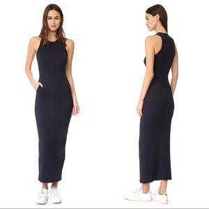 James Perse Sleeveless Pocket Maxi Dress